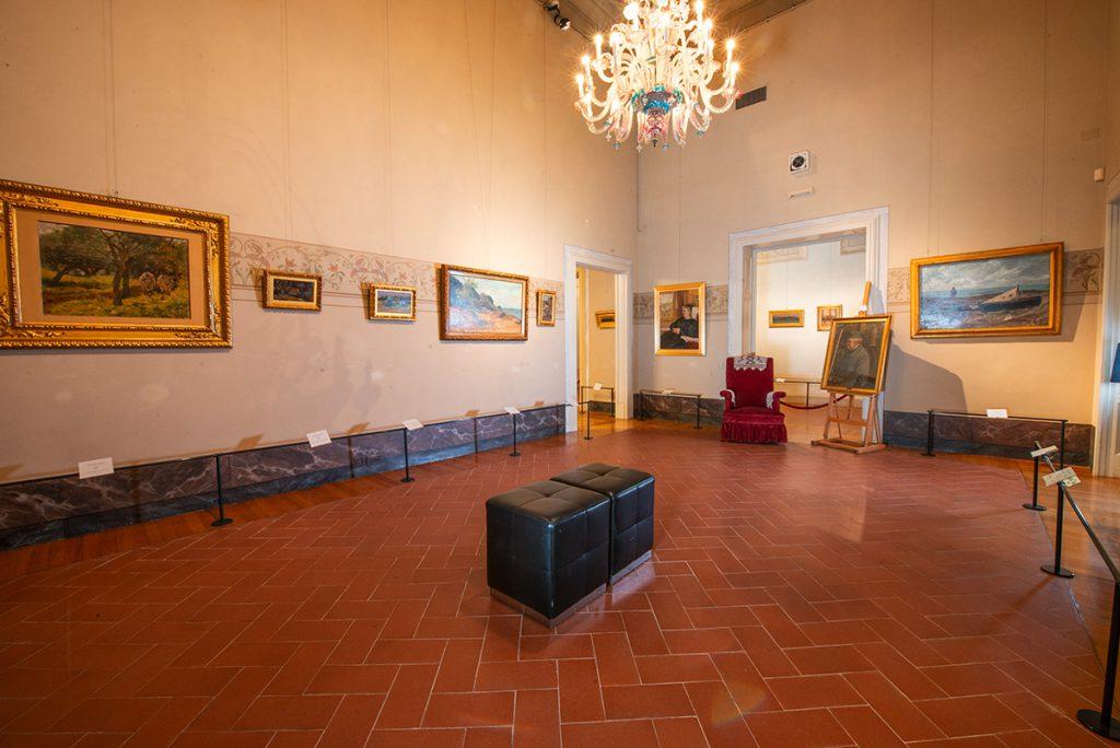 Saletta Fattori Villa Mimbelli