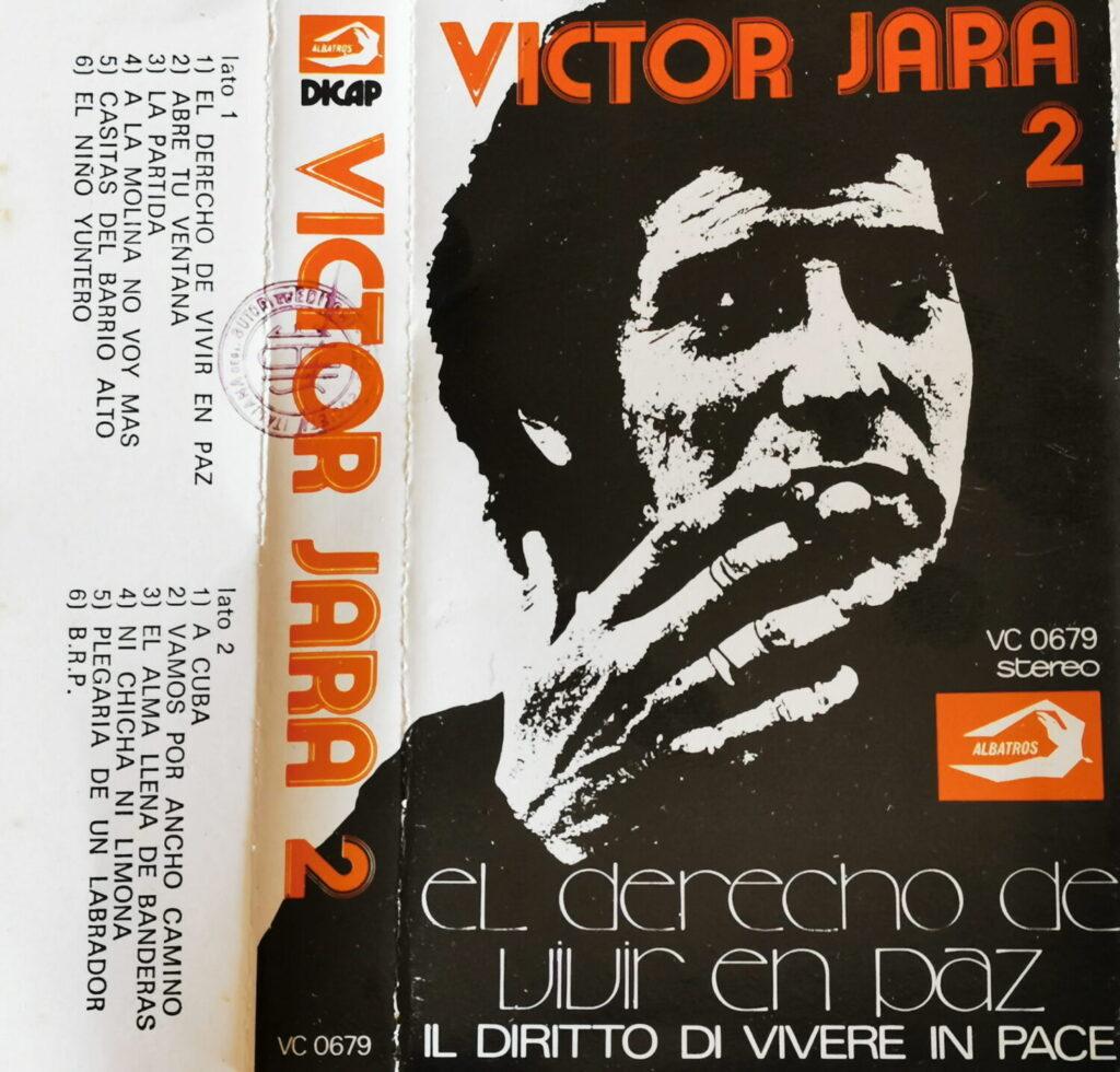 Victor Jara Copertina della cassetta originale