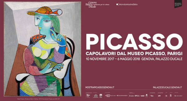 Manifesto Mostra Picasso Genova