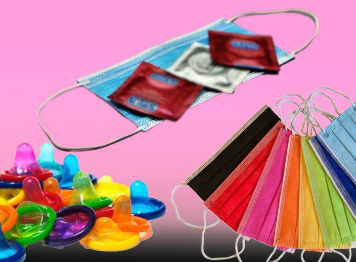 Preservativi e mascherine
