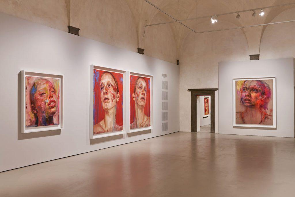 Installation View, Museo del Novecento, Mostra di Jenny Saville. ©photo Ela Bialkowska OKNOstudio (tutti i diritti riservati, vietata la riproduzione totale o parziale)